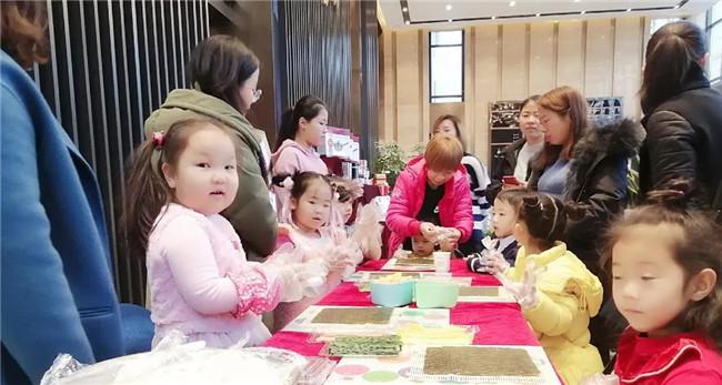 【哈罗新城冬日小课堂】创意寿司活动圆满落幕 唯美食与爱不可辜
