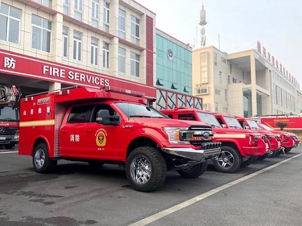 视频|德阳消防救援力量驰援绵阳安州地震灾区