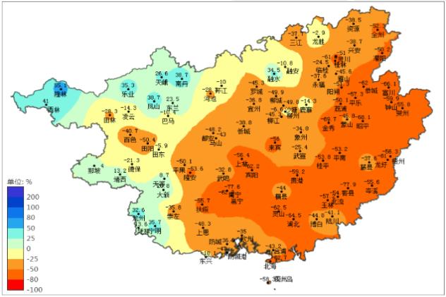 桂东桂南旱情将持续 须继续做好抗旱减灾工作