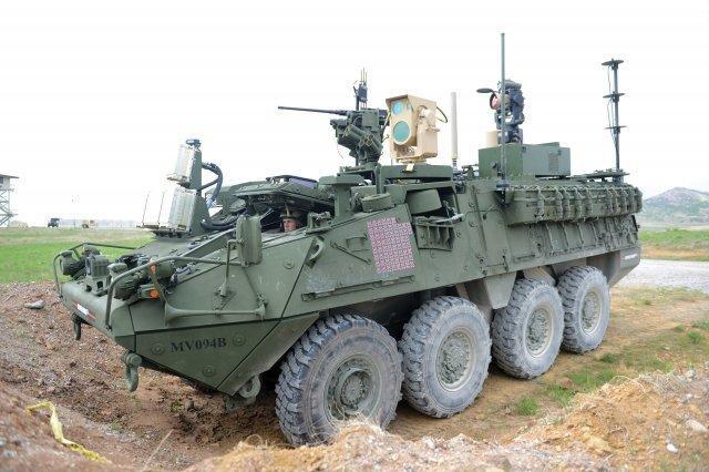 美国车载高能激光武器秀测试战绩:击落了64架各型无人机