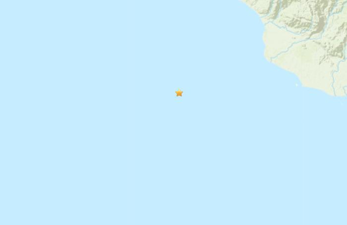 巴布亚新几内亚发生5.3级地震 震源深度77.5公里