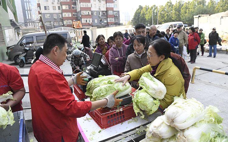 洋葱、土豆等冬储菜大量上市后期北京菜价有望持稳