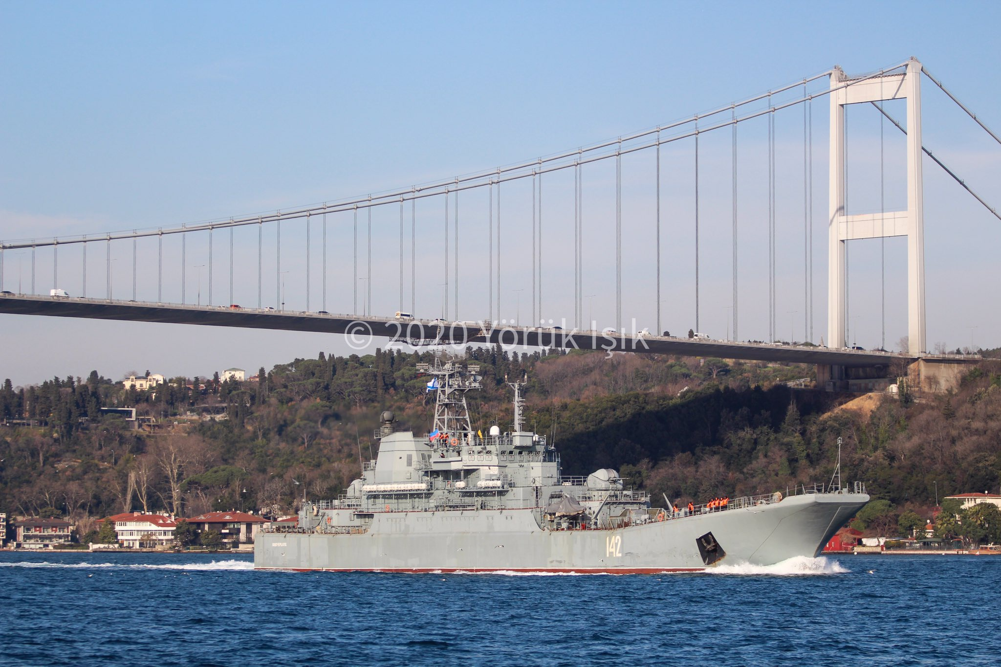 增援已到!2艘登陆舰抵达叙利亚 得大量坦克补充