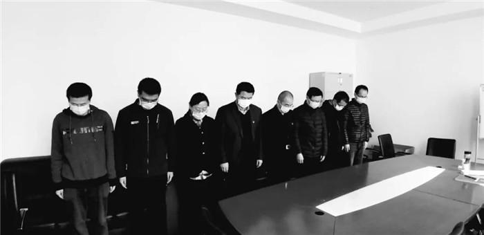 杏耀主管:悼抗疫牺牲杏耀主管烈士和逝世同胞图片