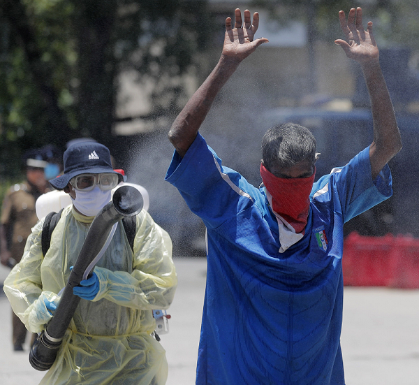斯里兰卡新增66例新冠肺炎确诊病例 累计达1749例