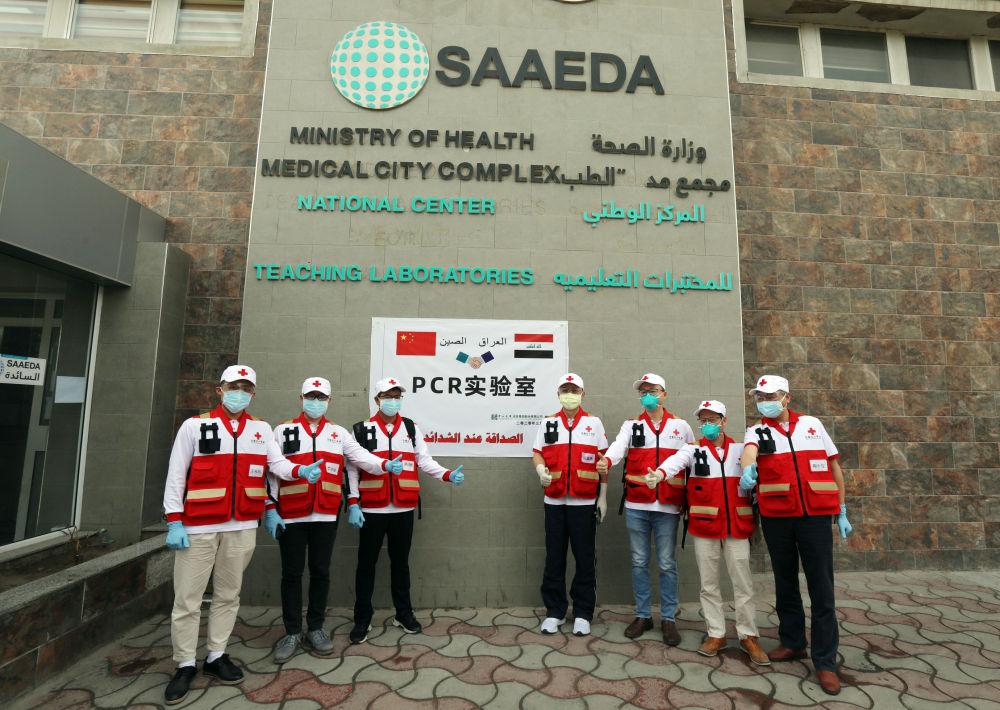中国全力帮助阿拉伯国家抗疫图片