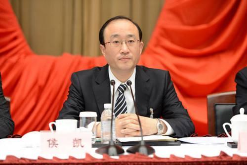 人事 侯凯任审计署审计长,曾任上海市纪委书记