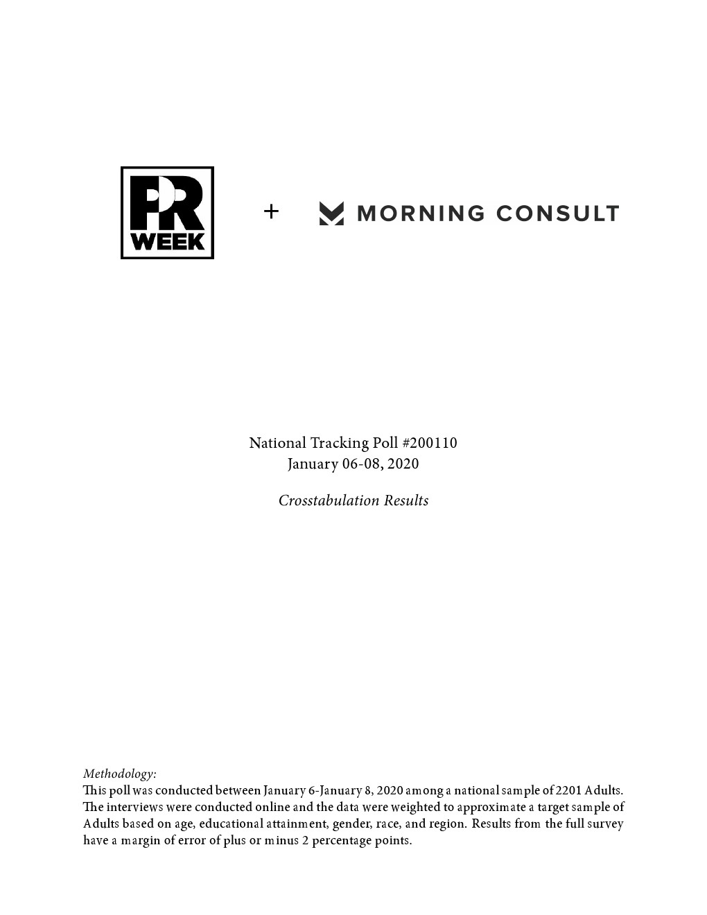 Morning Consult:2020年美国消费者追踪调查报告