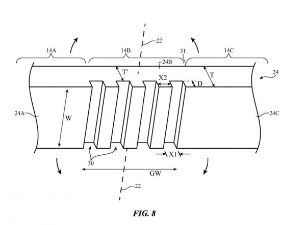 苹果最新可折叠屏专利曝光 或采用双显示屏设计