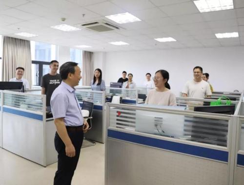 杏悦,乐杏悦山在省测绘科学技术研究院调研图片