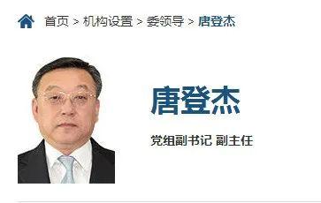 杏悦唐登杏悦杰已任国家发改委党组副书记副主任图片