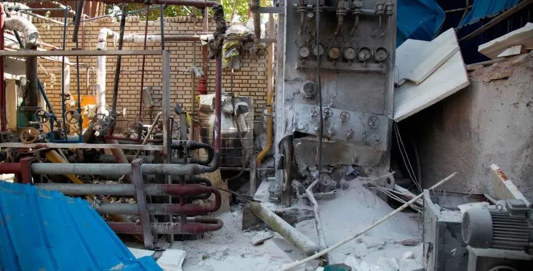 当地时间7月7日,德黑兰一家工厂发生爆炸。