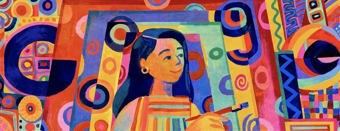 谷歌涂鸦纪念菲律宾艺术家和活动家帕西塔·阿巴德