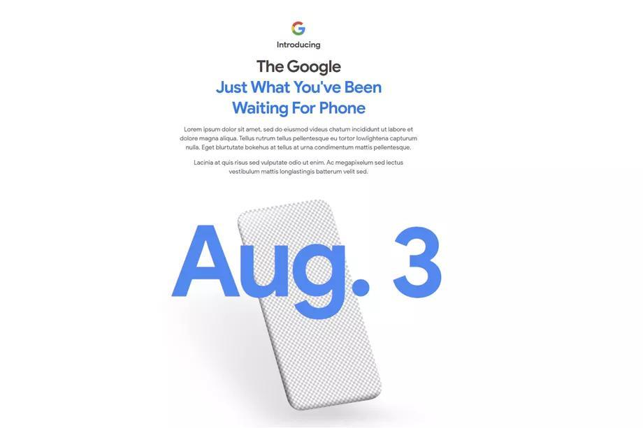 Google预告将于8月3日推出Pixel 4A经济型智能手机