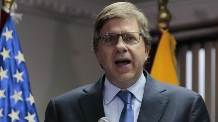 △美国驻巴西大使托德·查普曼(图片来源:巴西媒体UOL)