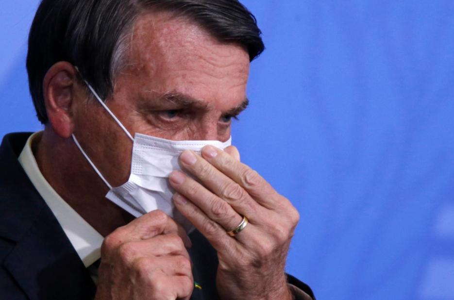 记者问及家人涉腐问题 巴西总统:我想一拳揍你脸上