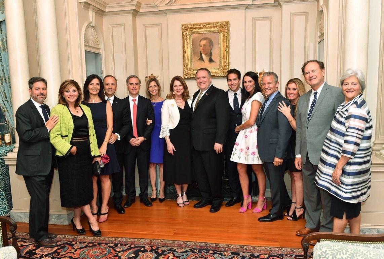 △2019年6月12日晚宴照片(图片来源:NBC)
