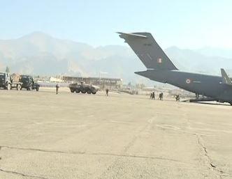长期对峙:印军运输机向中印边境空运大量冬季物资