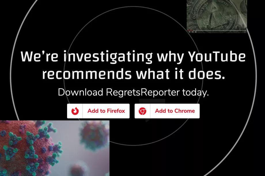 Mozilla发布浏览器扩展 邀请用户对YouTube的推荐算法进行独立研究