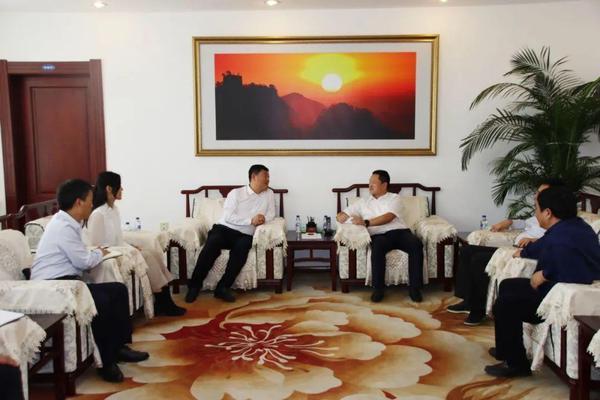中国长城副总裁会见沈阳市皇姑区区长 商谈合作事宜