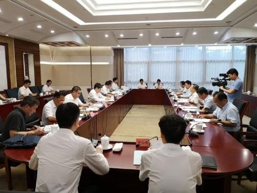 朱从玖副省长主持召开民建省委会重点提案办理会图片