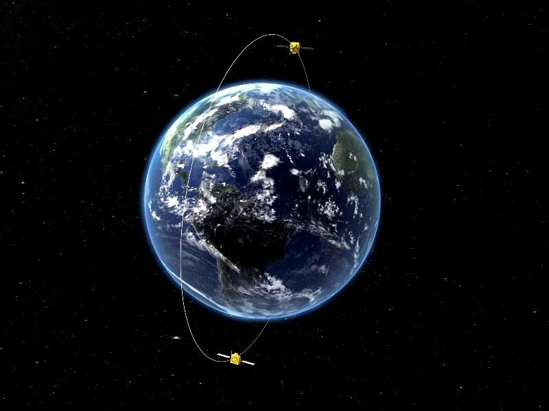长征四号乙运载火箭成功发射环境减灾二号A、B星