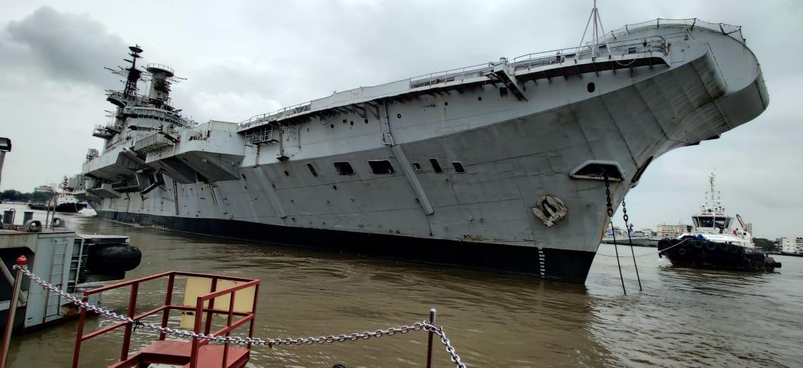 回炉造摩托!印度海军维拉特号航母将被切割拆解