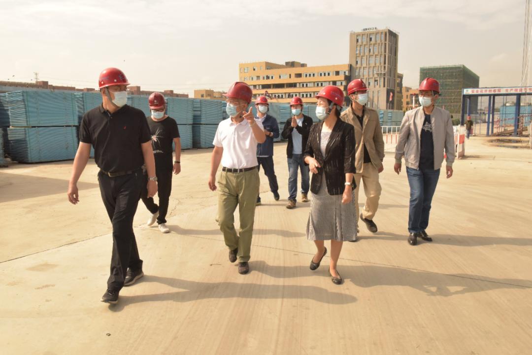王永生节前现场检查新校区建设和安全稳定工作图片