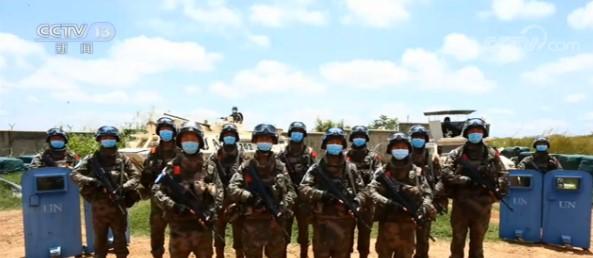 南苏丹 为了和平坚守:坚守危险国度 注入和平能量图片