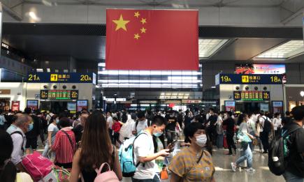 10月1日铁路上海站发送旅客将超过56万人次 接近单日历史最高纪录图片