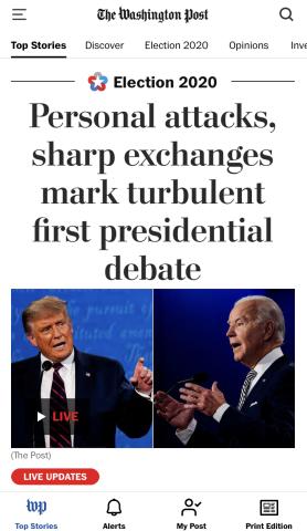 大选直击:首场辩论沦为摔跤比赛 美国舆论疯狂吐槽