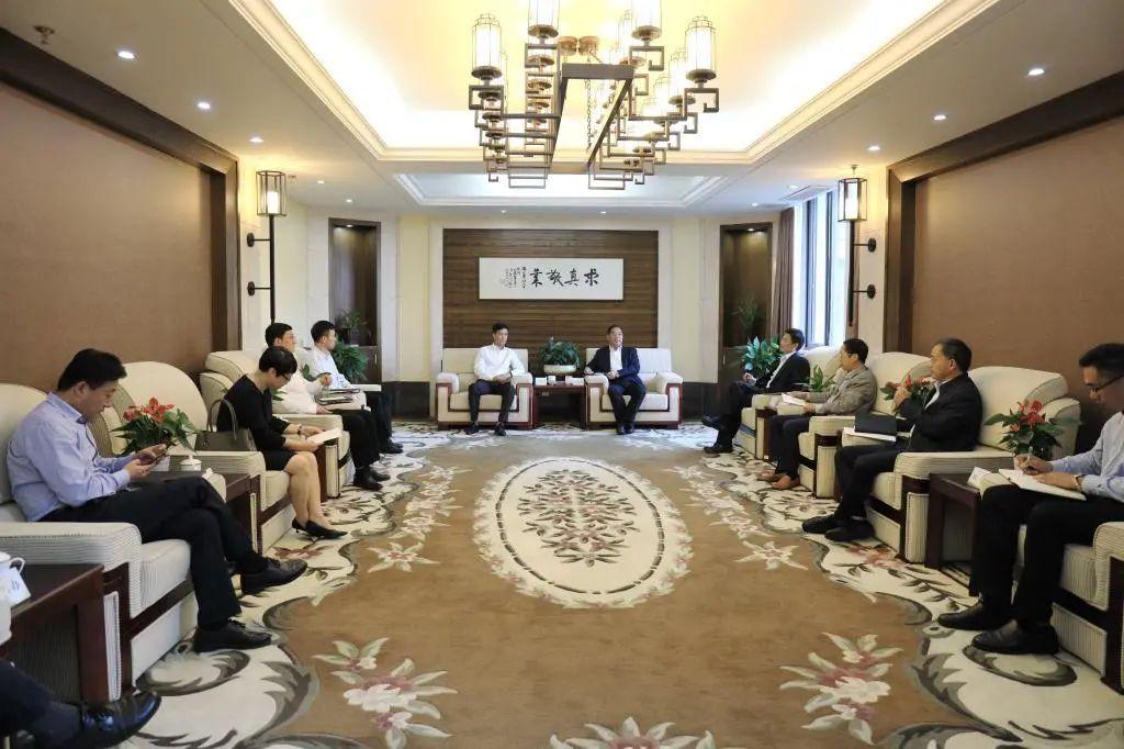 临安区委书记卢春强一行来浙江农林大学调研图片