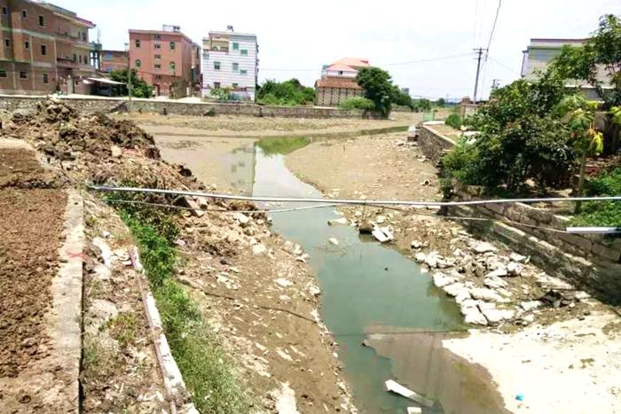改图为上巽前的造道村河玉边线周岸情况改图为下河后的造周岸线道。情况边。