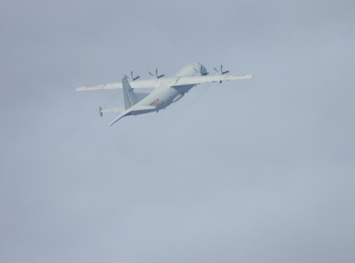 台军称解放军今派遣一架运8反潜机现身台湾西南空域 台媒:本月第8次图片