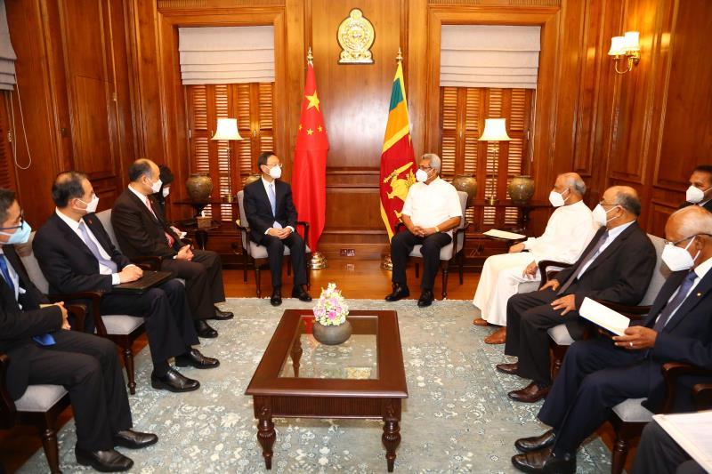 """西方污蔑中国在斯设下""""债务陷阱"""" 斯里兰卡总统郑重声明:这并不属实图片"""