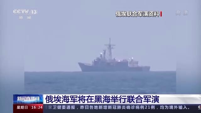 俄埃海军将在黑海举行联合军演