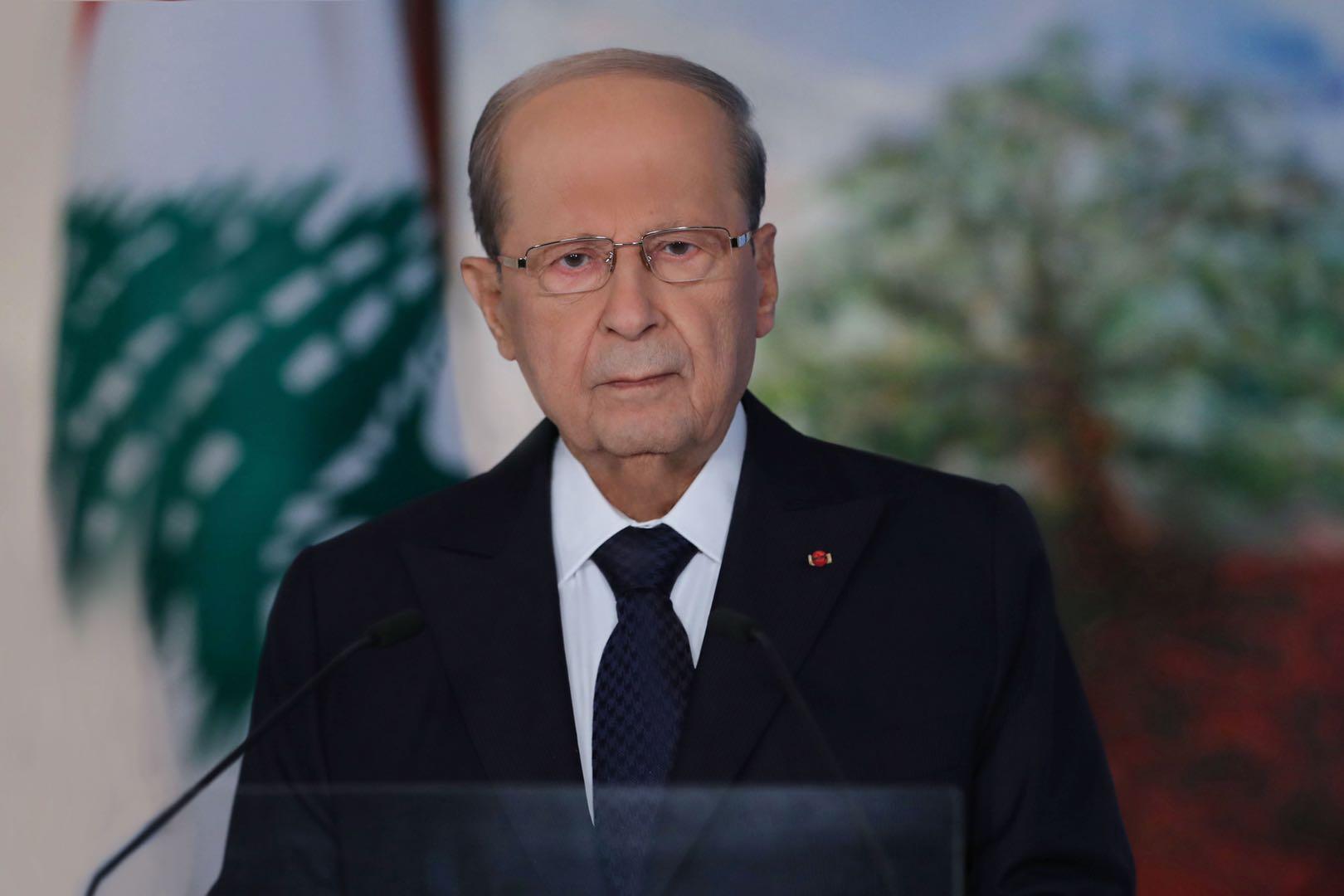 黎巴嫩总统奥恩:黎以划界以拉斯-纳古拉为起点