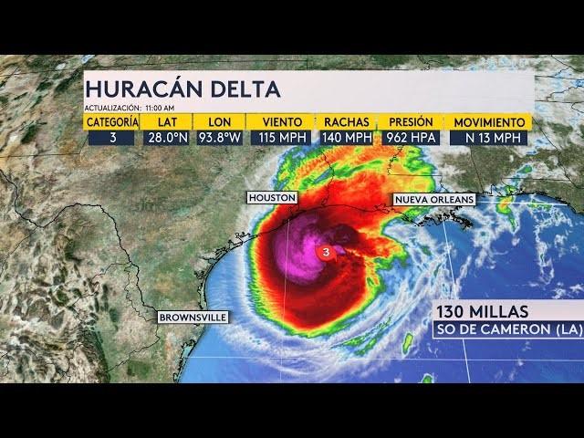 """影响石油产能 30万民众受灾 飓风""""德尔塔""""侵扰美墨两国"""