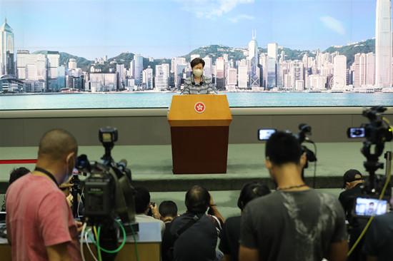 林郑:将赴京与部委协商 冀施政报告含中央支持政策图片
