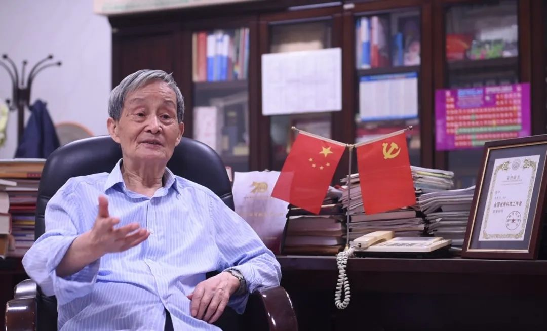 """他是河南培养的第一位院士,和化学""""热恋""""一辈子!图片"""