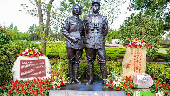 位列开国十位大将之首,毛泽东极为倚重他!这位战神的纪念像今日在上海落成图片