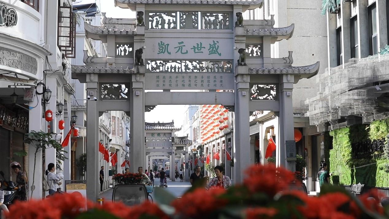 习近平广东行首站来到潮州古城图片