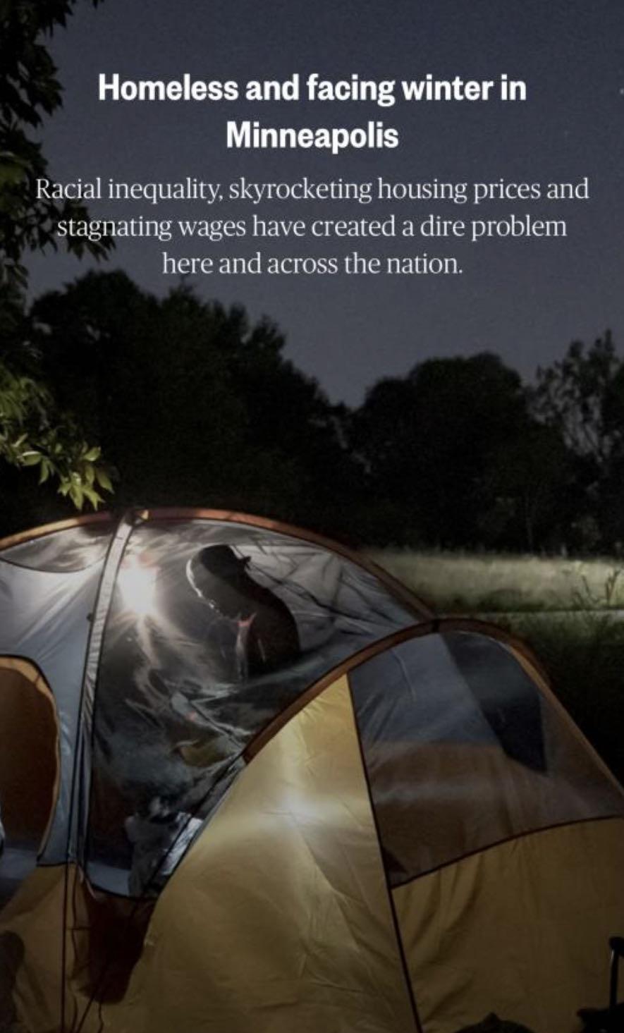 """何以为家?疫情之下美国无家可归者""""难上加难"""""""