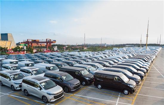 千余辆新能源车远征欧洲,上汽大通海外市场大步向前