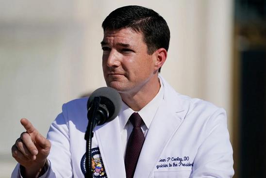 美国白宫医生:特朗普已经连续几天新冠检测呈阴性