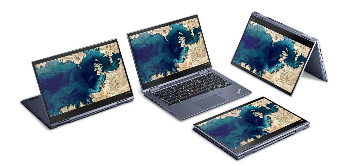 联想推出 ThinkPad C13 Yoga Chromebook 变形本:AMD R7 3700C 加持