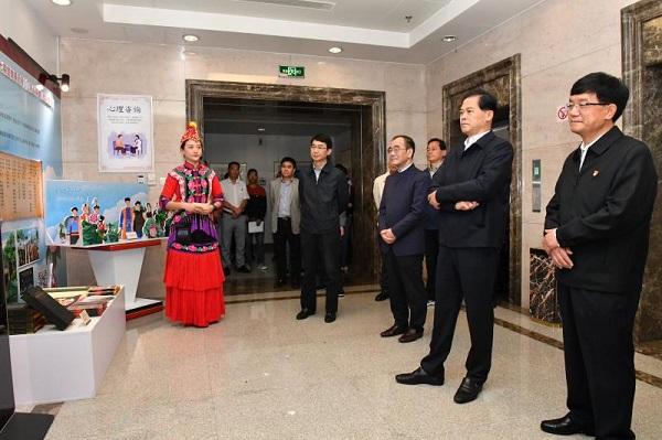 第七期云南纪检监察特色文化长廊开展图片
