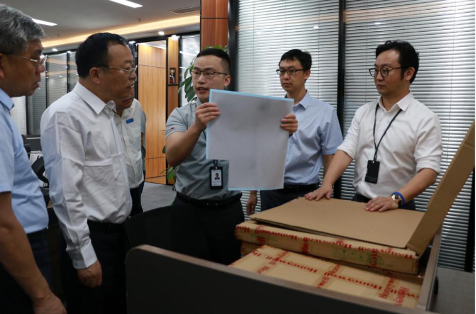 党委书记马俊杰赴深圳走访彗晶新材料科技有限公司图片