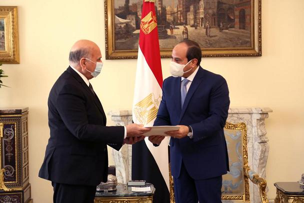 埃及总统会见伊拉克外长 讨论双边关系和地区问题