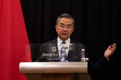 王毅谈中马八点共识:南海不应成为大国博弈、炮舰横行之海图片